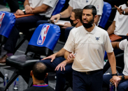 James Borrego reacts to historical game with multiple female officials: 'It's a special evening'