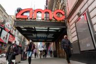 AMC share price quadruples as retail traders raid hedge-fund short targets