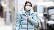 Suri Cruise, 14, Runs By technique of NYC In Blue Puffer Coat & UGG Boots For the length of Frigid Having a take into memoir Outing