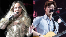 Mariah Carey Fangirls Over Shawn Mendes After He Goes Shirtless & Plays Her 'Ragged Songs'