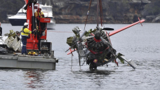 Investigator blames exhaust leak for Sydney seaplane crash