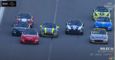 Wild MX-5 Cup Poke Sees High Eight Enact Inside of Half A Second