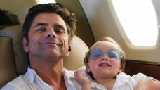 John Stamos Isolates From Son Billy, 2, After 3rd COVID Exposure