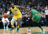 Lakers vs. Celtics: Lineups, broadcast records, injury reports for Jan. 30