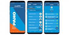 MedPPE, la nueva aplicación de la OPS que orienta al personal de salud sobre el uso de equipos de protección contra la COVID-19
