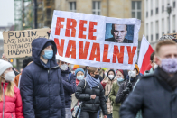 Russian anti-corruption group founded by Navalny calls for Biden to sanction Putin allies in letter