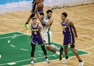 WATCH: Jayson Tatum dishes within the again of-the-again-dart to Time Lord