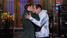 John Krasinski Kisses Pete Davidson As 'Pam' After 'The Office' Fans Takeover 'SNL' Studio — Survey