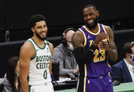 WATCH: Jayson Tatum's highlights vs. Los Angeles Lakers (Jan. 30)