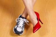 High heel sales have dropped 71 percent as shoppers vow to never go back