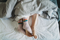 Doctors say wearing socks to bed can help you to have a better night's sleep