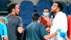 Australian Originate 2021 officials separate Fabio Fognini and Salvatore Caruso fight
