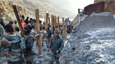 Hunt for 37 trapped in India glacier flood