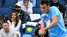 Liked-up Tomic eyes big Launch scalp