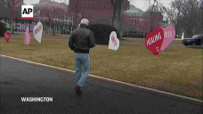 Bidens have message of hope on COVID Valentine's