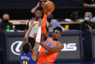 WATCH: OKC G Hamidou Diallo commits one of the strangest goaltends ever in 97-95 loss at Denver