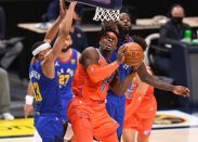 OKC lets Denver steal one away in 97-95 loss