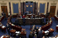 Senate decides to allow witnesses in Trump impeachment, extending trial
