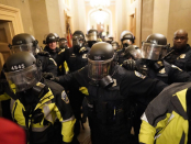 Capitol Police officers issued votes of no confidence against top leaders following their response to the Capitol riot