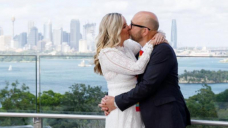 Couples marry in micro-weddings at Taronga