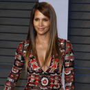 Halle Berry dances topless in Valentine's Day video