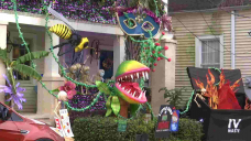 Mardi Gras marked by Condominium floats in Novel Orleans