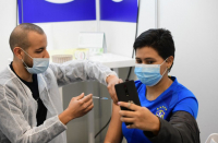 Coronavirus: Pollfinds Israel's vaccination rates vary by political view