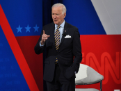 Biden says he's 'drained of talking' about 'prone guy' Trump in first town hall as president