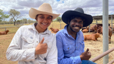 Indigenous stock handlers learn their craft in the Pink Centre