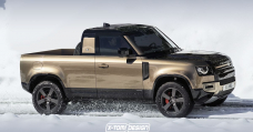 It Looks Admire A Novel Land Rover Defender Get-Up Will Happen
