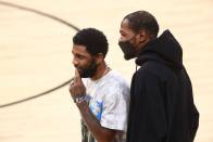 Lakers-Nets: Kevin Durant (hamstring) out, Kyrie Irving probable for Thursday