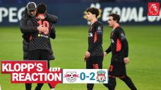Jurgen Klopp urges Liverpool to build on Leipzig win