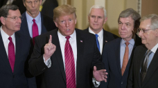 Trump-McConnell feud threatens Republicans' path to power