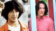 Keanu Reeves Then & Now: Watch How He's Changed Since The First 'Bill & Ted' 32 Years Ago
