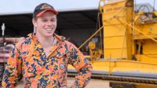 Australia's vintage machinery powered by passion of a young farmer
