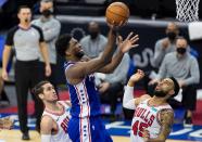 3 observations: All-Megastar Joel Embiid carries Sixers past Bulls at home