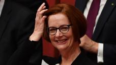 Gillard delighted key speech is TikTok hit