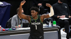 Timberwolves rookie Anthony Edwards lights up Twitter with dunk of the NBA season