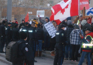 Anti-lockdown rally at Alberta legislature voices support for jailed pastor