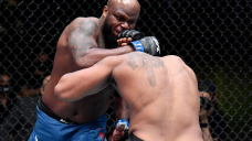 UFC Fight Evening 185 video: Derrick Lewis knocks out Curtis Blaydes stiff with scary uppercut