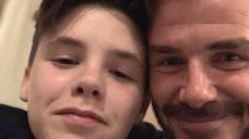 David and Victoria Beckham Cling  time Son Cruz's 16th Birthday