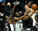 James Harden, Nets make statement with West Fly trip finale