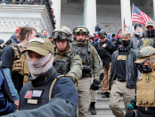 An Oath Keepers leader arrested for participating in the Capitol riot said she met with Secret Provider and was providing 'security' to legislators and other key figures