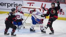 Brady Tkachuk scores in OT, Senators beat Canadiens 3-2
