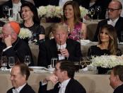 Trump's DC hotel restaurant had a seven-step process for serving him a Eating regimen Coke: report