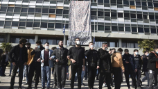 Hundreds of students rally in Greece against new police law