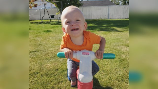 Alberta covering expensive SMA treatment for Fairview toddler 'Mighty Max'