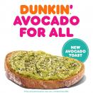 Dunkin' adds avocado toast, matcha-topped doughnut and blueberry matcha latte to its spring menu
