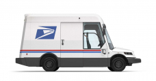 Demand: The Contemporary US Postal Van And Its Large Windscreen