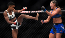 Ashley Yoder 'coming in guns blazing' for quick-witness Angela Hill rematch at UFC Combat Evening 186
